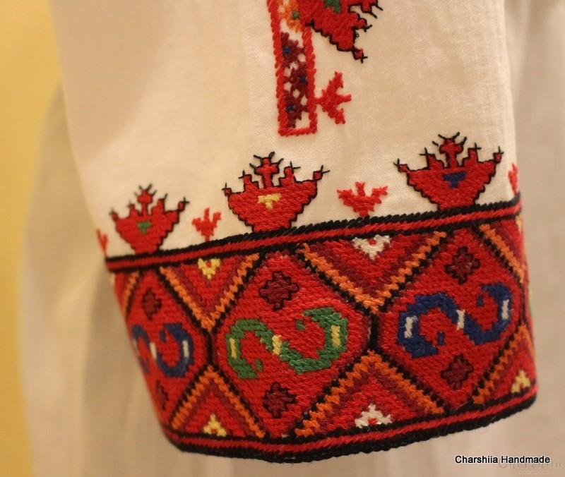 Дамска дълга риза с българска шевица