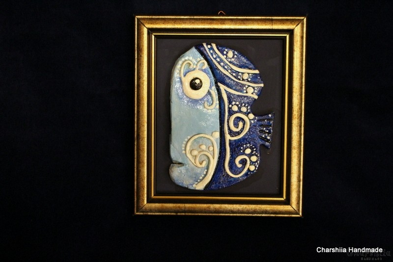 """Картина ''Керамична риба"""" 4"""