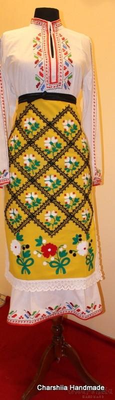 Българска народна носия - Тракийски женски народен костюм