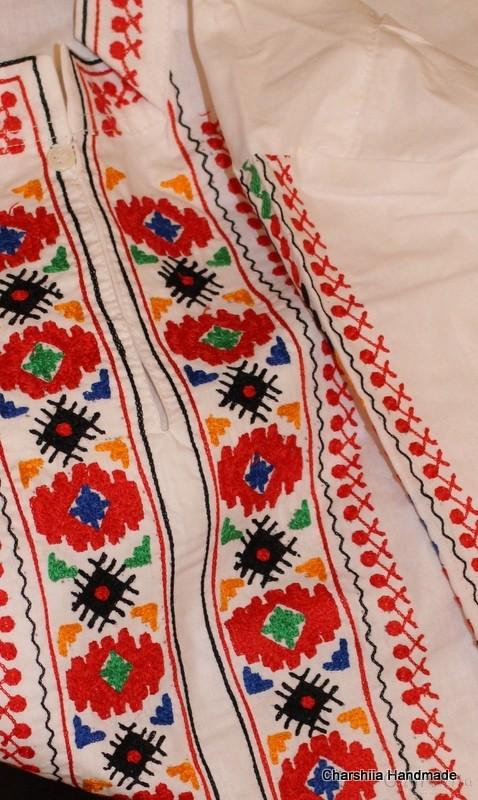 Bulgarian folk costume - Thracian men's folk costume