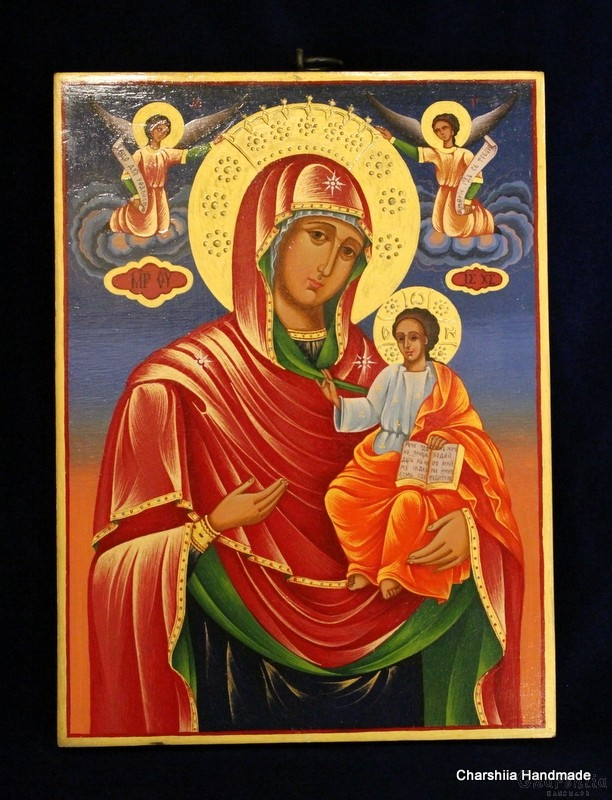 Icon image of  Virgin with the child
