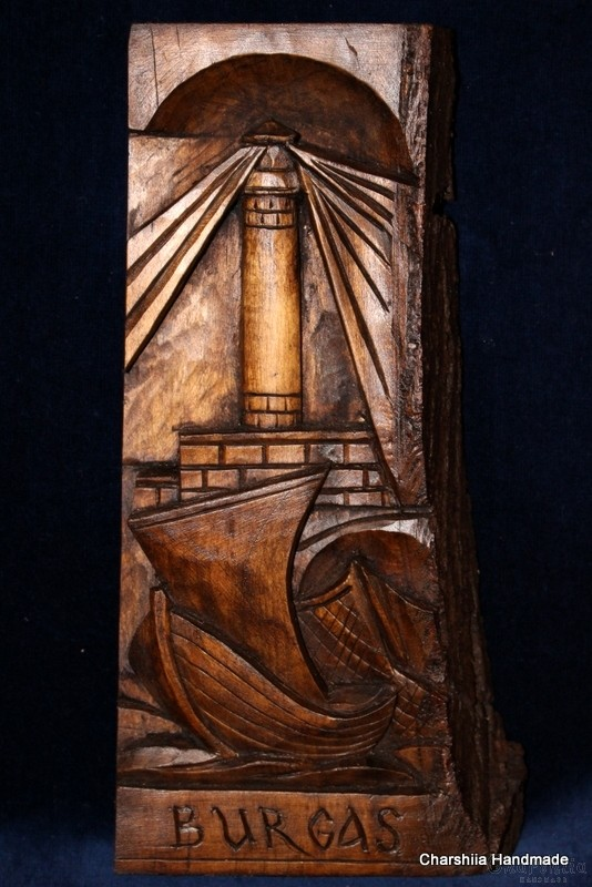 Дърворезба ''Морски Бургас'' 2