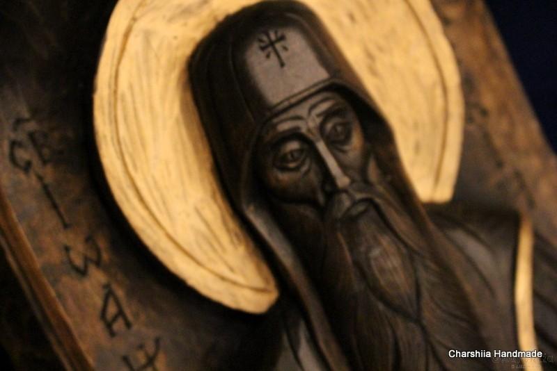 Дърворезба - Икона ''Свети Иван Рилски''