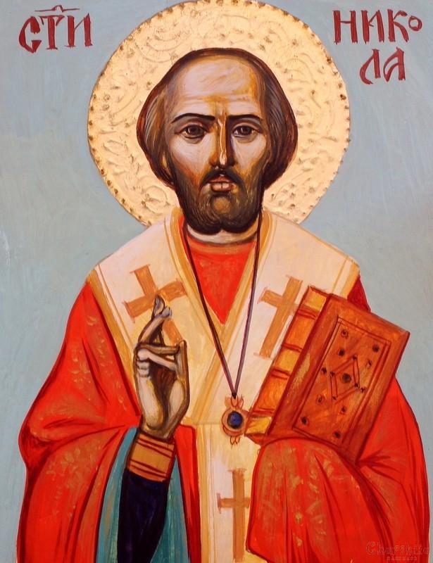 икона образ на ''Свети Николай Чудотворец''