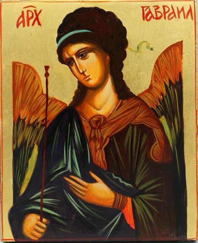 Икона образ на ''Свети Архангел Гавраил''