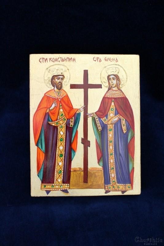 икона образ на ''Свети Константин и Елена''