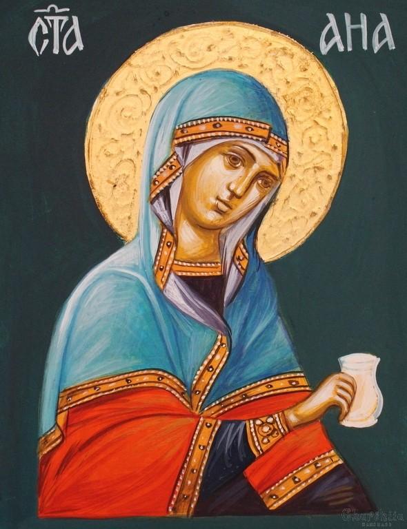 икона образ на ''Света Ана''