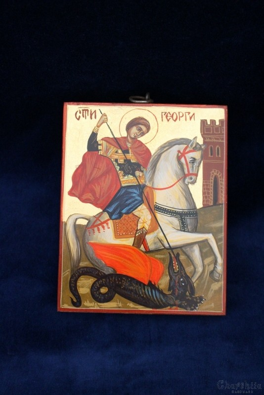 Икона образ на ''Свети Великомъченик Георги''