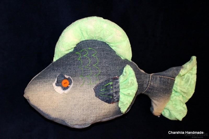 """Парцалена кукла ''Акула"""""""