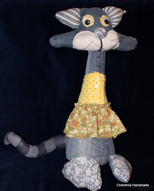 "Парцалена кукла ''Котка"""