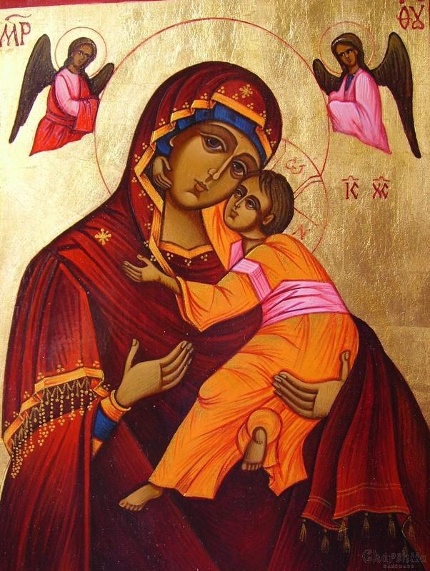 Икона образ на ''Богородица Умиление-Донска''