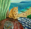 """Картина """"Пазач на златните рибки"""""""