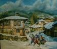 Картина ''Зимен празник Сурва''