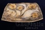 Декоративна чиния за стена (поднос)