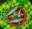 """Картина """"Рибена кост"""""""