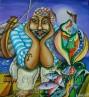 "Картина ""Рибар и неговият улов"""