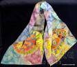 Ръчно рисуван шал - Батик