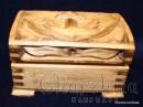 """Кутия за бижута, дърворезба """"Море"""""""