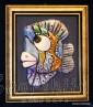 """Картина ''Керамична риба"""" 2"""