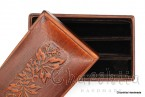 Кутия за пури, ръчно изработен от естествена кожа