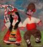 Филцово пано ''Национален танц - Хоро''