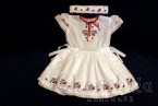 Детска рокличка и лента за глава