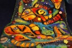 Филцово пано ''Подводен свят - риби''