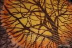 """Картина - Батик ''Енергийно дърво 5"""""""