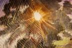"""Картина - Батик ''Енергийно дърво 4"""""""