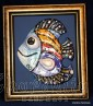 """Картина ''Керамична риба"""" 9"""