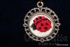 Медальон ''Калинка''