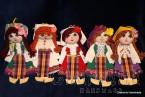 Традиционна българска малка парцалена кукла
