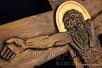 Дърворезба - Разпятие на нашия Господ Иисус Христос