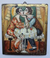 "Painting ""Love and kiss 2''"