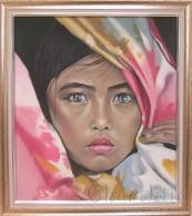 """Painting """"Sadness"""""""