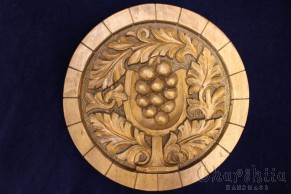 "Woodcarving ""Grapes"""