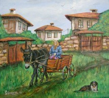 "Painting ""Country transport"""