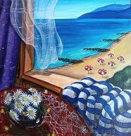 Painting ''Beach view''