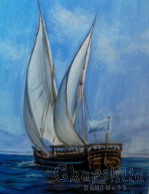 Painting ''Breeze in the sails''