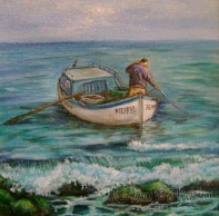 Painting ''Fisherman''