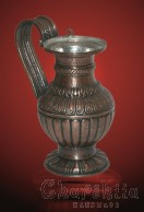 Copper relief jug with Thracian patterns (a partial replica of the jug from the Rogozen treasure)