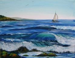 Painting ''Coastwise''