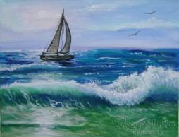 Painting ''Sea sports''
