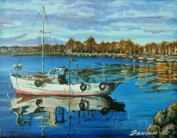Painting ''Marine mirror''