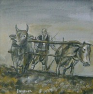 Painting ''Plowing''