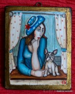 "Painting ""Cat friendship 11''"
