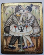 "Painting ""Love and  kiss 1''"