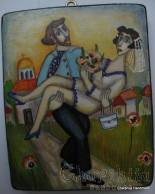 Painting ''Wedding 2''