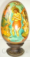 Icons painted on wooden eggs 3
