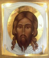 Icon Unheavenly image of Christ